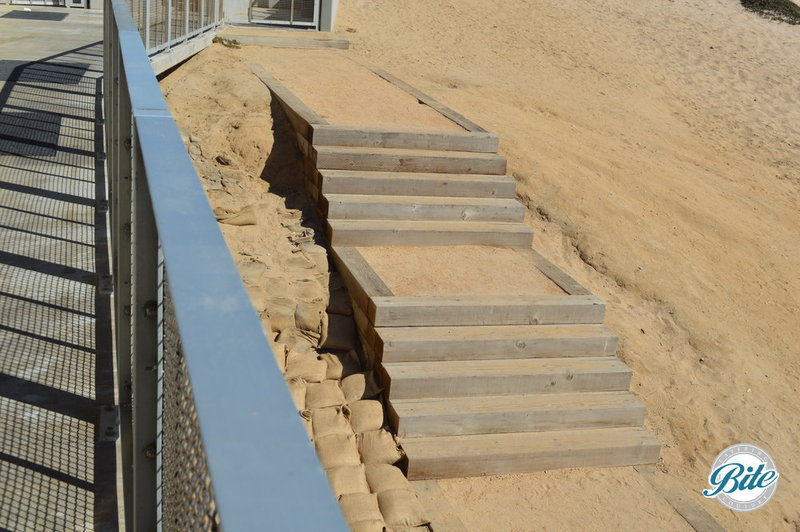 stair leading to dockweiler youth center