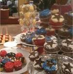Dooney and Burke Food Display - Hayden Panettiere Clutch Launch