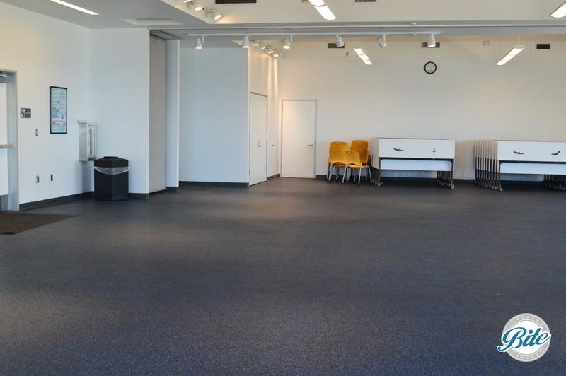 Multipurpose room at the dockweiler youth center