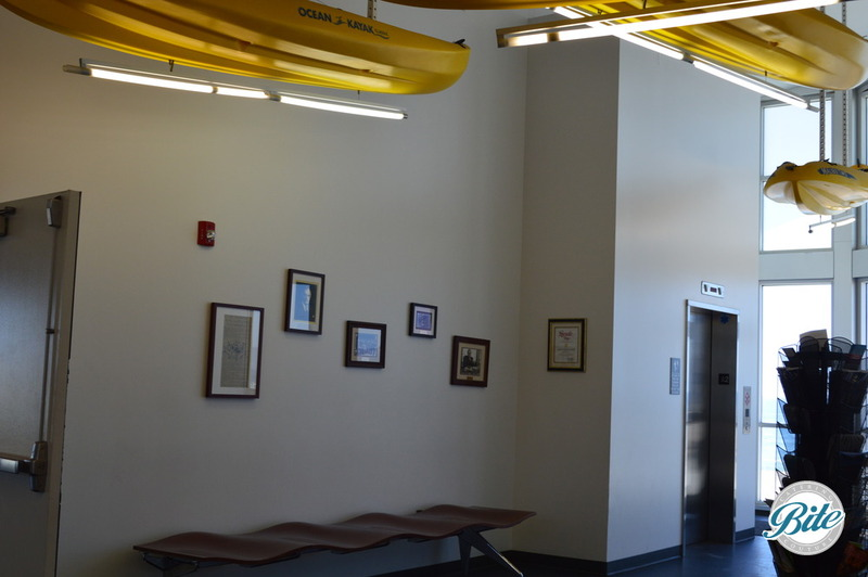 Entry way at the Dockweiler Youth Center