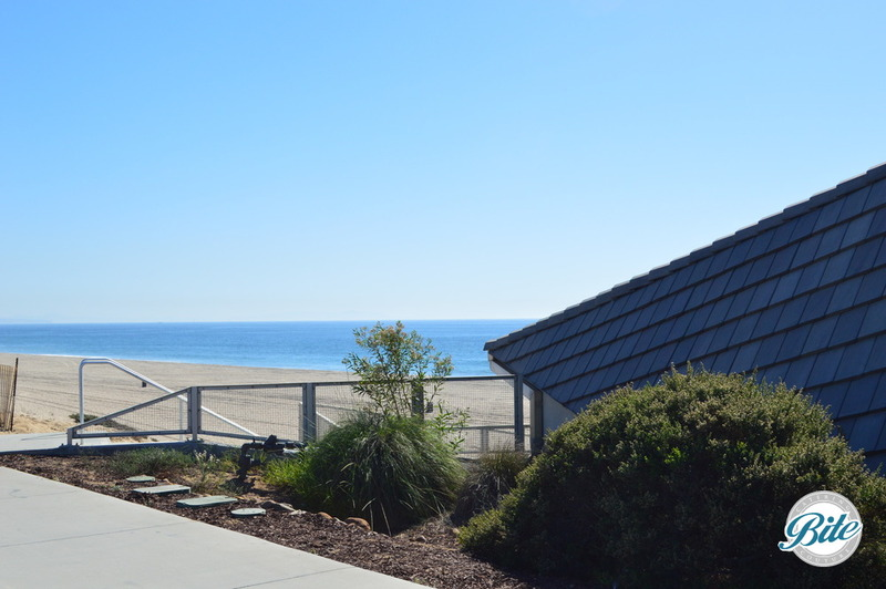 Ocean view from the back of the dockweiler youth center