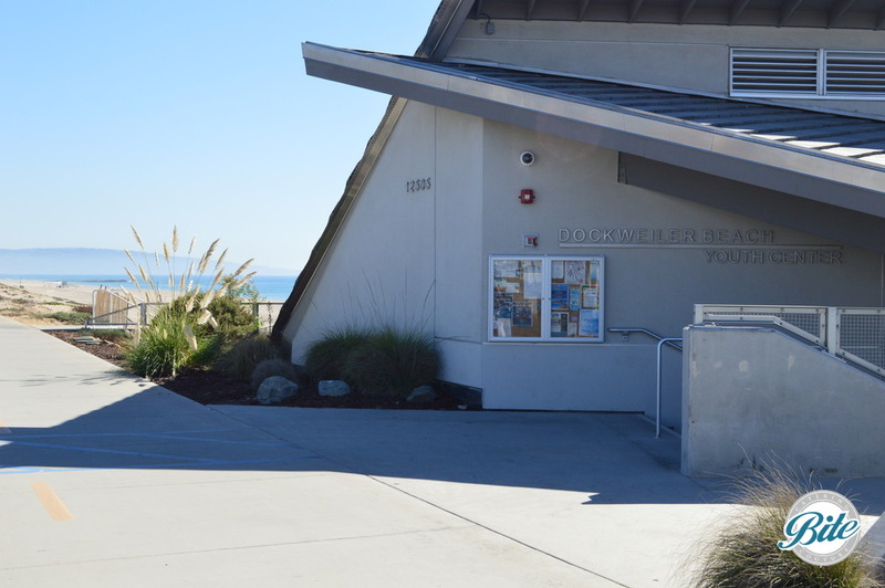 Entrance to Dockweiler Beach Youth Center