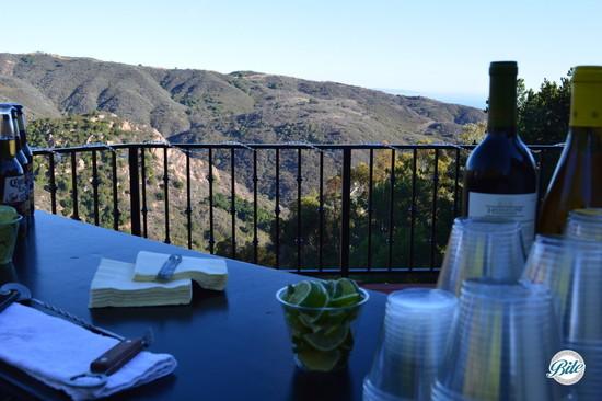 View of the Malibu Hills from Backyard