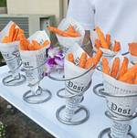 Sweet Potato Fries in Newspaper Cone