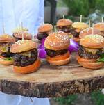 Mini Burger Passed on Tree Tray