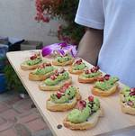 Malibu Hills Backyard Crostini