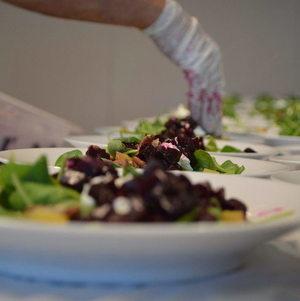 Salad Plate Up Line