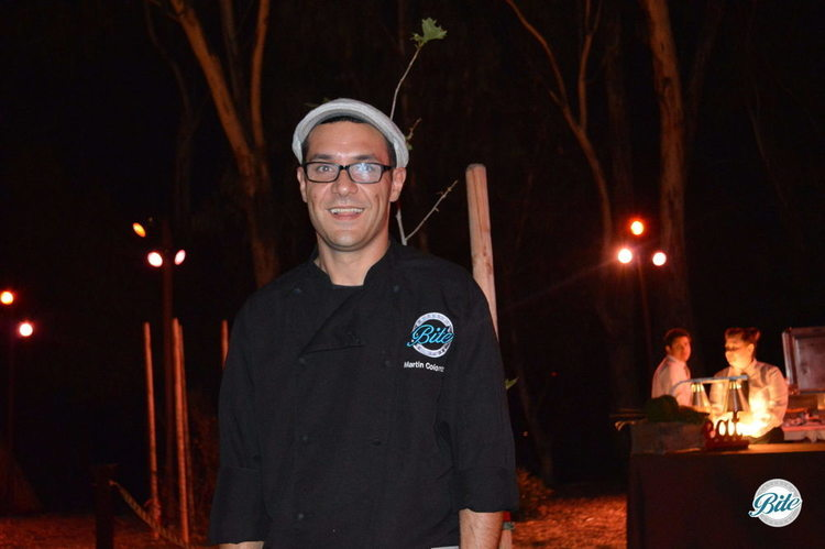 Environmental Non Profit Fundraiser for Tree People LA  Chef Martin working an event