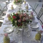 Tablescape for Bridal Shower