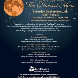 Harvest Moon - TreePeople