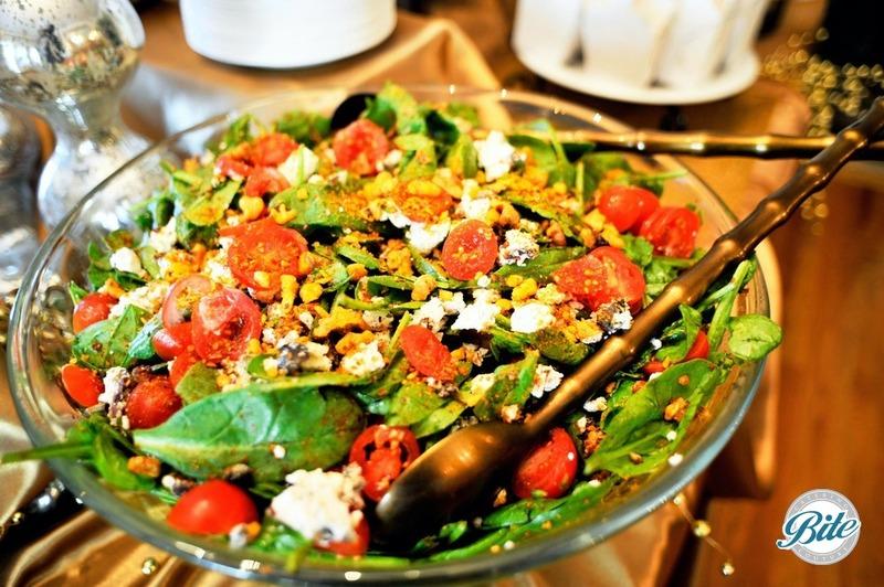 Andouille Sausage Spinach Salad