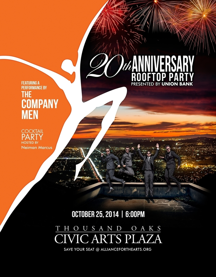 Alliance for the Arts Rooftop Gala Invitation