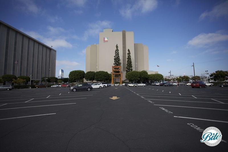 Parking Lot for Magic Box LA