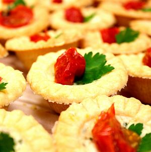 Tomato and Herb Tarts with Feta 2