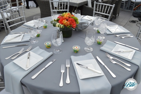 Tablesetting for Adult Birthday