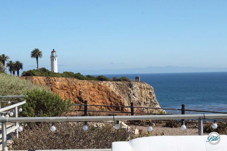 View of the lighthouse from Point Vicente Interpretive Center