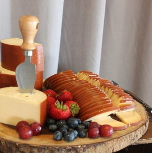 Antipasto display cheese