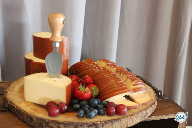 Antipasto display cheese
