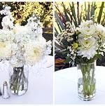 Beautiful floral arrangements by client