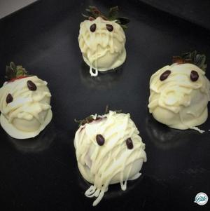 Mummy Berries #Halloween