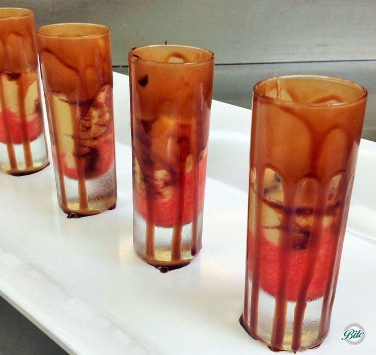 Chocolate Coated Shot Glasses with