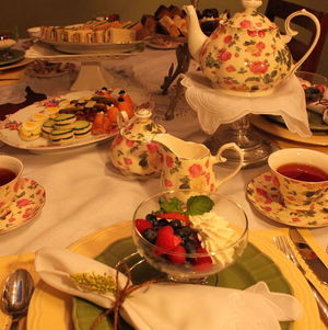 Tea Party Placesetting with Classic China