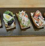 Assorted Tartine