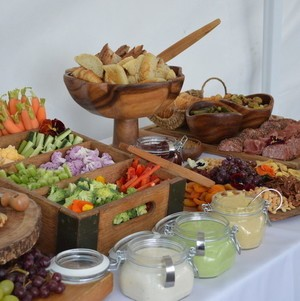 Charcuterie and Crudite Display