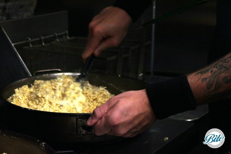 Prepping Sweet Corn Risotto