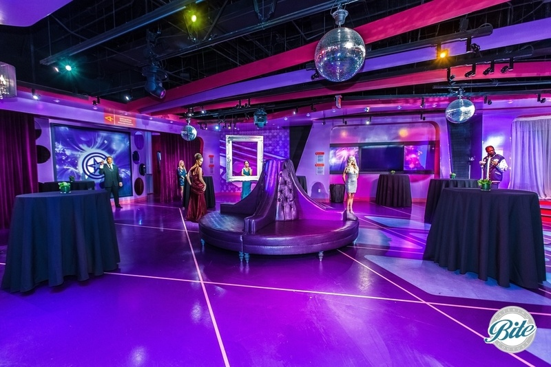 Party room where you can mix it up with some of your favorite celebrities (in wax)