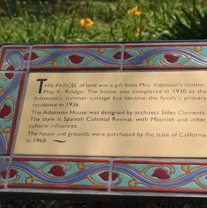 History of Adamson House