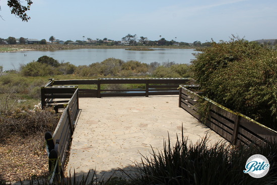View of Malibu Lagoon from the boathouse.