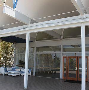 Partially Covered Oceanside Deck @ Malibu West Beach Club