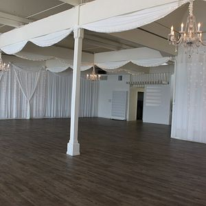 Angled View of Large Event Room @ Malibu West Beach Club