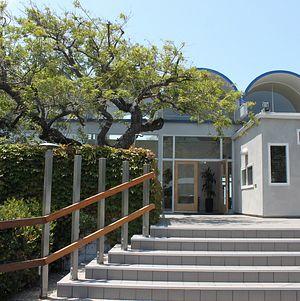 Entrance @ Malibu West Beach Club