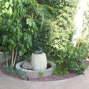 Fountain in the Courtyard @ Millwick