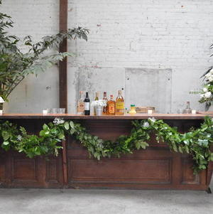 Bar @ Millwick Decorated with Floral