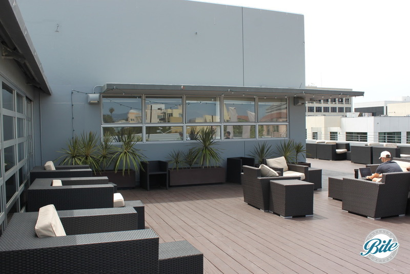 2500 sq ft of roofdeck patio available for networking and post-meeting refreshments at ROC Santa Monica