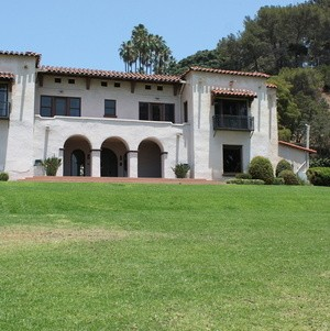 Wattles Mansion from Front Lawn