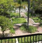 Garden View from Second Floor @ Wattles Mansion