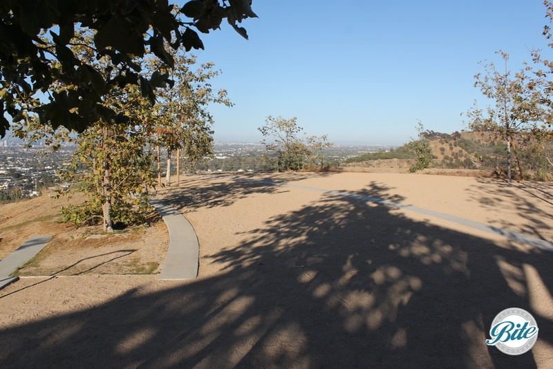 The Upper Terrace area is a terrific area to put up a tent or host dinner stations for events at Baldwin Hills Scenic Overlook