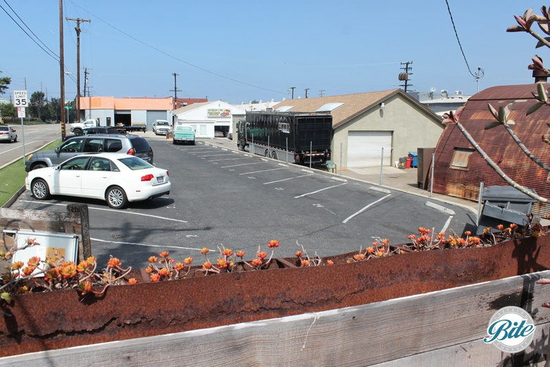 A 20+ car parking lot available at Smoky Hollow Studios