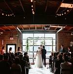 Wedding ceremony @ Smoky Hollow Studios