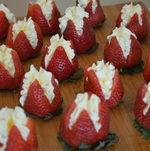 Strawberry Canapes