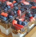 Granola Parfait with Fresh Berries