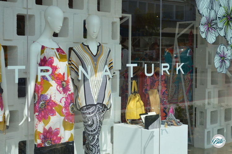 Trina Turk store in downtown Manhattan Beach