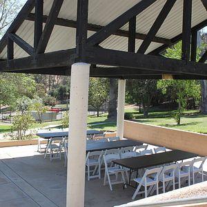 Pavilion Adjacent to Pond @ Grace Simons Lodge