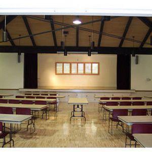 Interior of Grace Simons Lodge