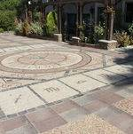 Mosaic Front Driveway @ Houdini Estate
