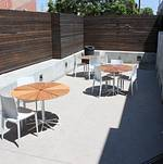 Patio off Lightbox @ Smashbox Studios